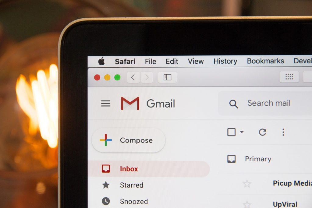 Gmail landing page